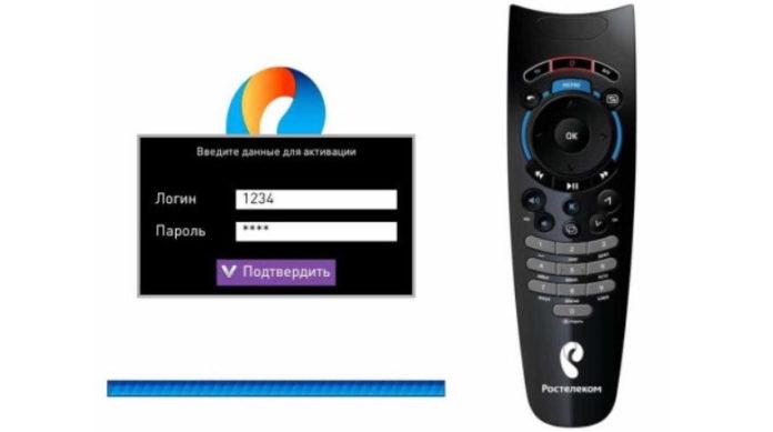 ТВ приставка Ростелеком требует логин и пароль: данные для активации, что делать если логин неверный