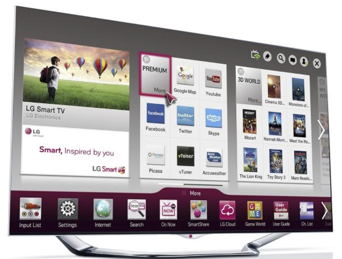 Для того, чтобы воспользоваться приложением Смарт ТВ телевизор должен быть подключен к интернету