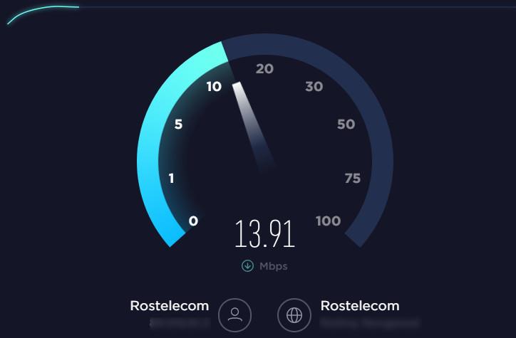 В случае, если вы регулярно измеряете скорость интернета с помощью онлайн-тестирования качества связи и результат в разы меньше заявленной скорости, обратитесь с жалобой к провайдеру