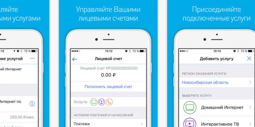 Приложение Мой Ростелеком, установленное на сотовом телефоне, позволяет не только во время узнавать состояние баланса, но и получать детальную информацию по остаткам пакетных услуг на сим карте